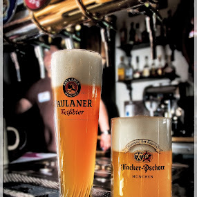 Thick & Thin by Dmitriev Dmitry - Food & Drink Alcohol & Drinks ( beer, bierkeller, glass, bar, minsk, pub, light )