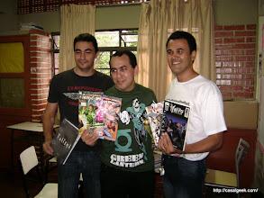 Photo: Sidney Teles, Eddy Barrows e Wellington Santos