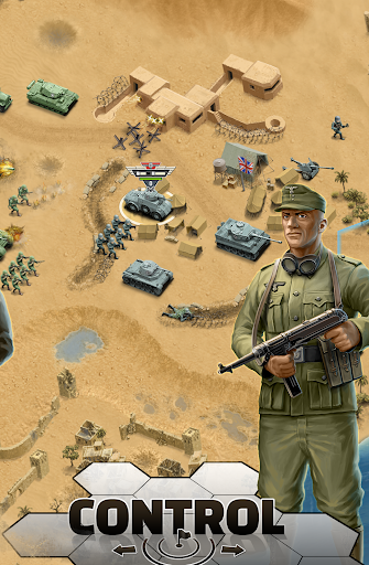 1943 Deadly Desert - a WW2 Strategy War Game 1.3.0 5