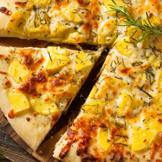Potato-Rosemary Pizza Recipe