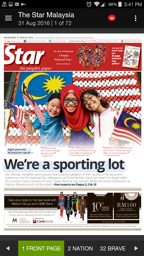 The Star ePaper- screenshot