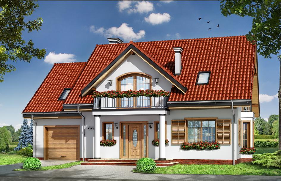 Projekt domu Julka 4 (TJN 568)  139 29m²