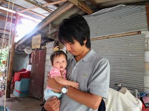 Photo: Arm and baby at Mae Rim