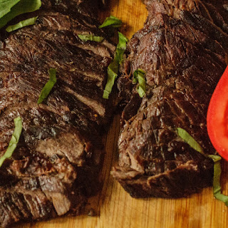Tequila Lime Marinated Steak.