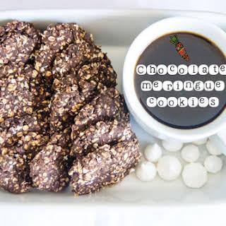 Chocolate Meringue Cookies.