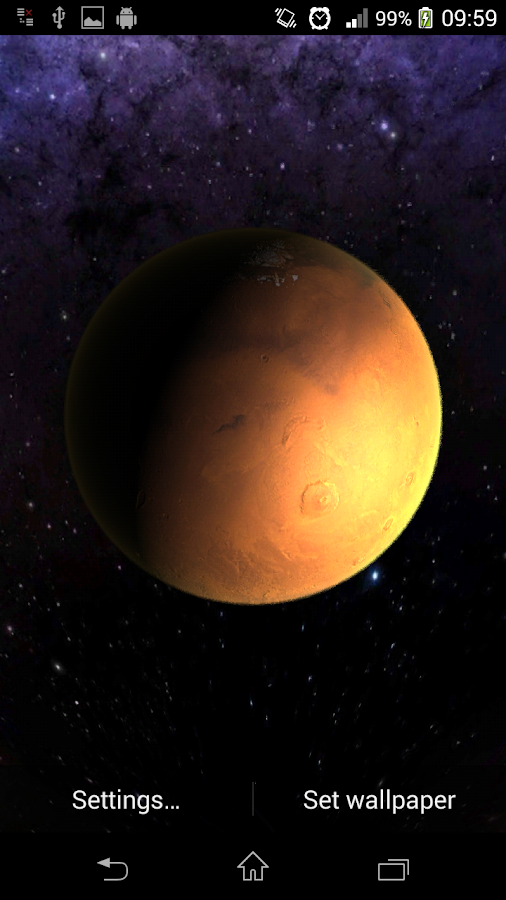 Planets Live Wallpaper - Android Apps on Google Play