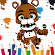 Coloring book for Five Nights 2019