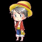 Shimeji - Luffy Doll Live Icon