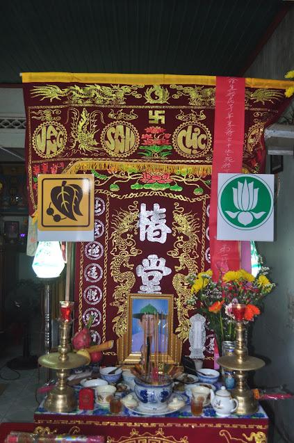 Tang lễ của HTr cấp Tín Minh Lễ – Lê Thắng, Gia trưởng GĐPT Từ Lâm.