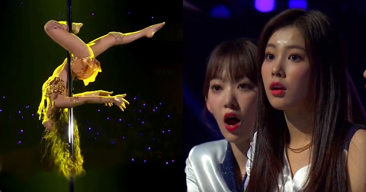MAMAMOO Solar Did A Pole Dance, IZ*ONE's Reaction Was Priceless