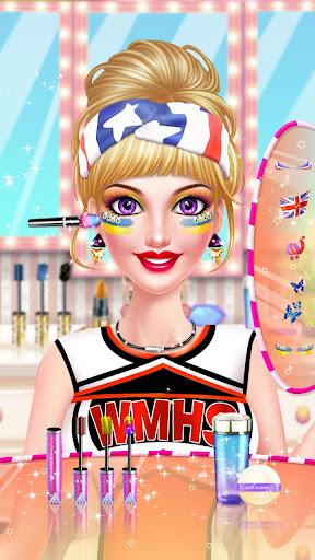 ud83dudc67ud83dudc57Sports Girl Makeup - Keep Fit  screenshots 4