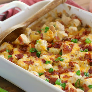Loaded Potato & Ranch Chicken Casserole