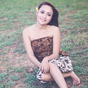 Bali Girl by Chandra Marola - People Fine Art ( bali girl. bali )