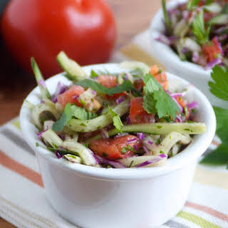 Persian Cucumber and Herb Salad.