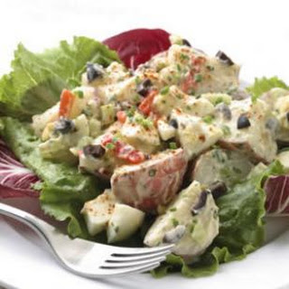 Roasted Garlic Potato Salad