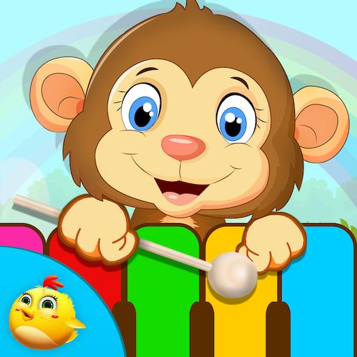 幼児のための動物サウンド 教育 LOGO-玩APPs