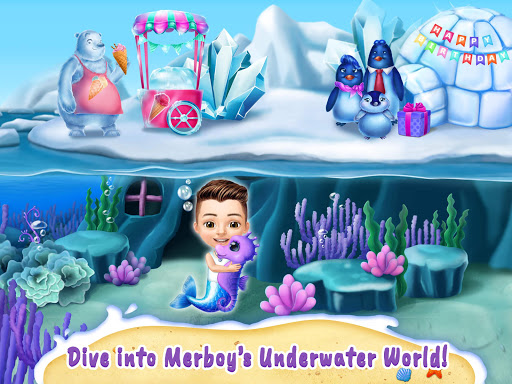 Sweet Baby Girl Mermaid Life - Magical Ocean World 4.0.1 screenshots 18