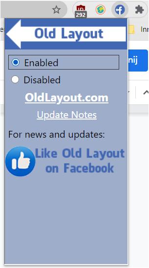 wyłączenie nowego facebooka