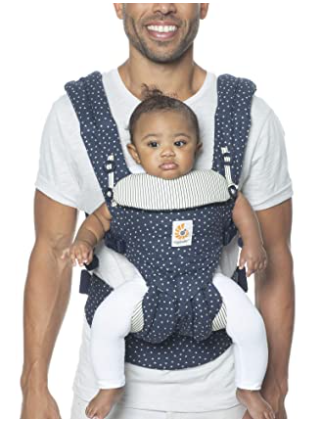 Ergo Baby Carrier Omni 360 for Dads, #1 in 2020 list of best baby carriers for big dads