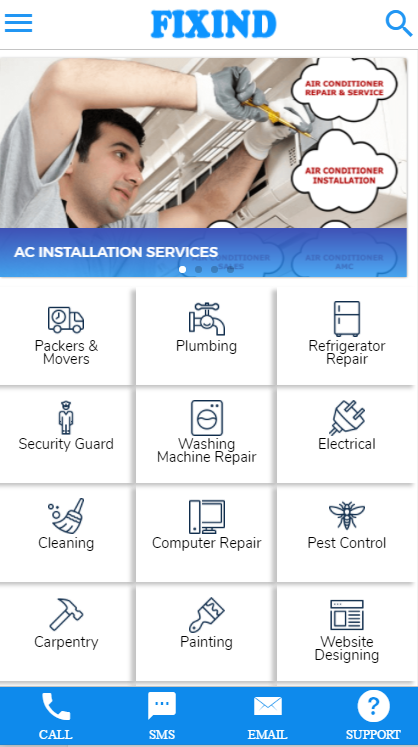 Repair, Maintenance & Service Direct To Your Home- screenshot