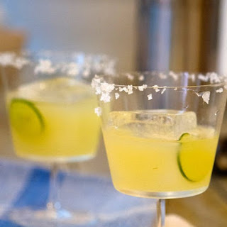 Pure Mexican Margarita.