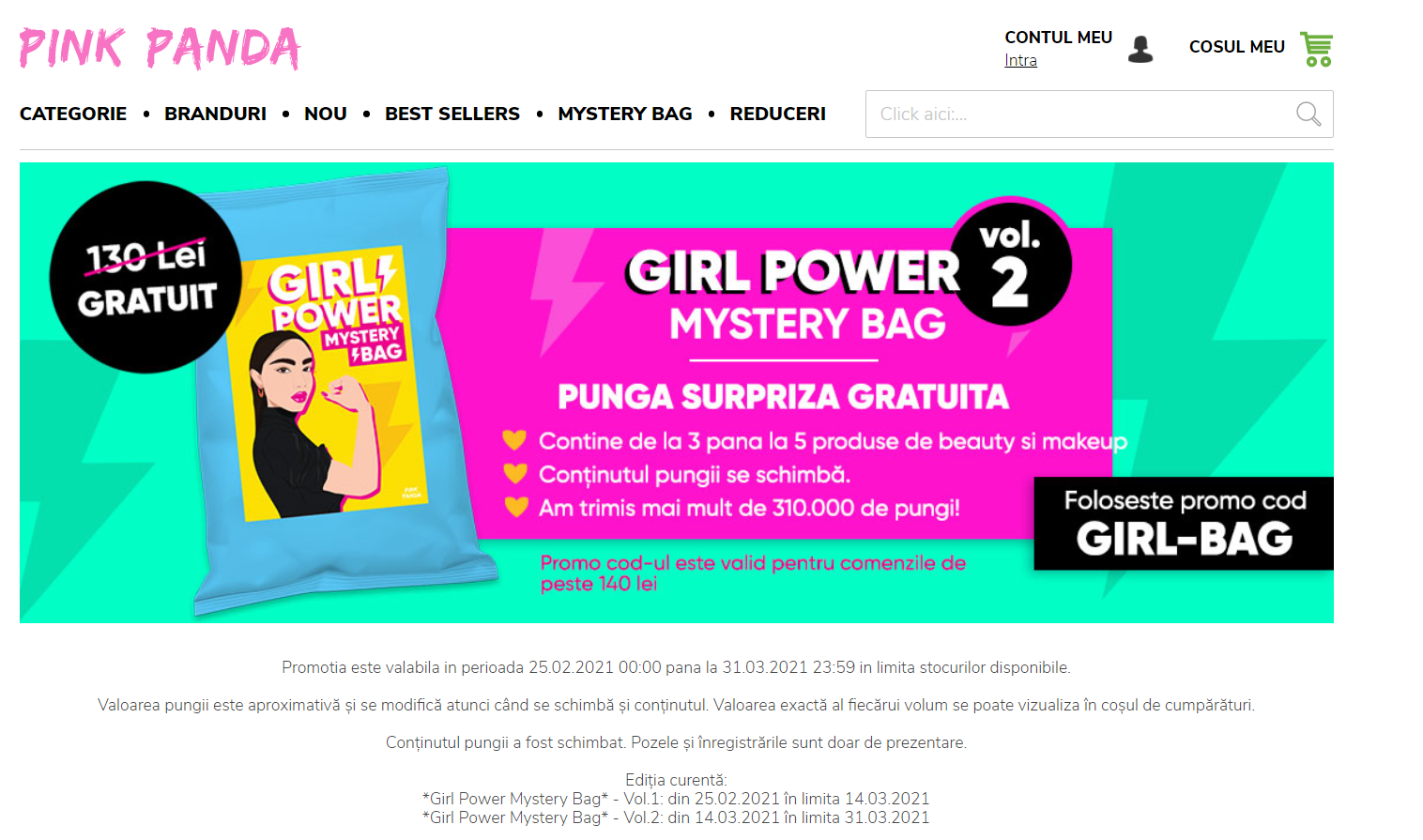 Un gift card la atingerea unui prag de cumpărare te ajuta sa cresti valoarea medie a comenzii in magazinul online.