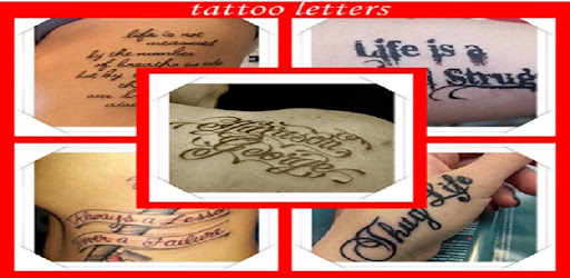 Letter Tattoo Designs Apps On Google Play