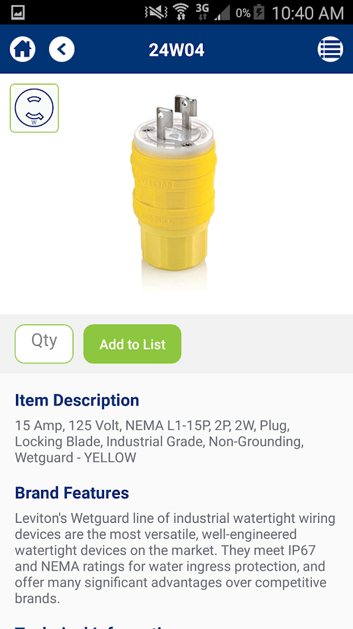 Leviton Wiring Device Selector - Android Apps on Google Play