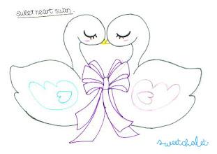 Photo: Sweet Heart Swan