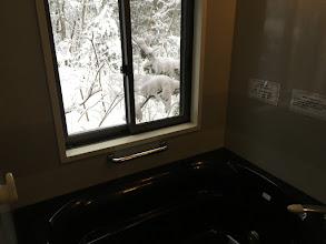 Photo: お風呂場から