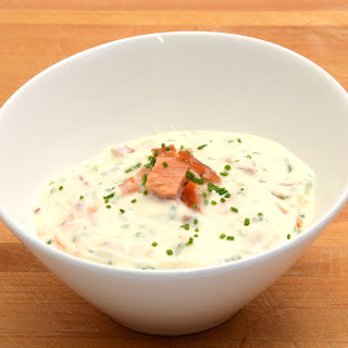 Smoked Salmon and Chive Spread