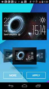 How to download Wormhole weather widget/clock 2.0_release mod apk for bluestacks