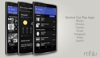 Screenshot of reNu Material Blue CM11 CM12