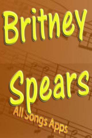 All Songs of Britney Spears