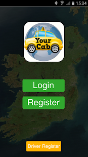 Your cab the taxi app ireland- screenshot thumbnail