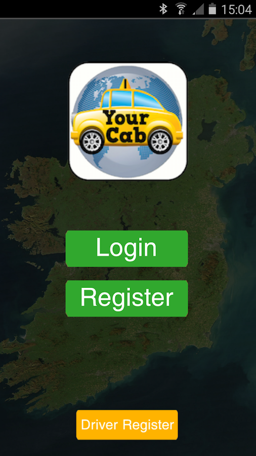 Your cab the taxi app ireland- screenshot