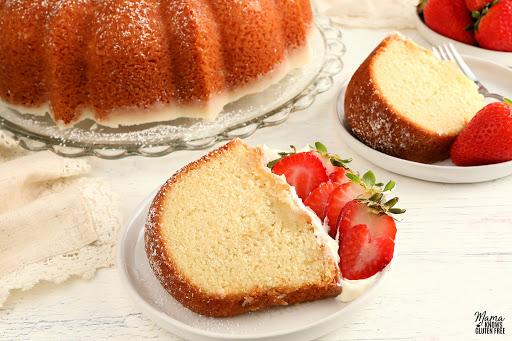 Gluten-Free Kentucky Butter Pound Cake {Dairy-Free Option}