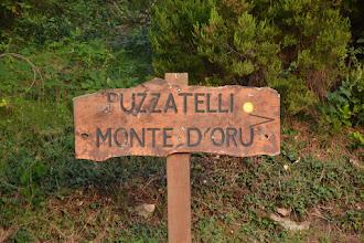 Photo: smerová tabuľa na Monte d´Oro