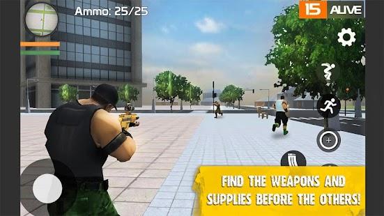 Strange Battle Royale 3D - náhled
