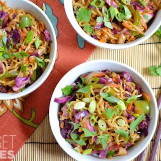 Vegetable Stir Fry with Noodles