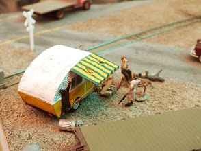 """Photo: 012 """"Life on the wrong side of the tracks"""" spotted at Peter Martin's Crock, Colorado ."""