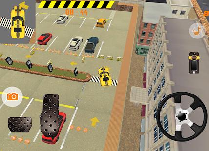 Taxi Car Parking - náhled