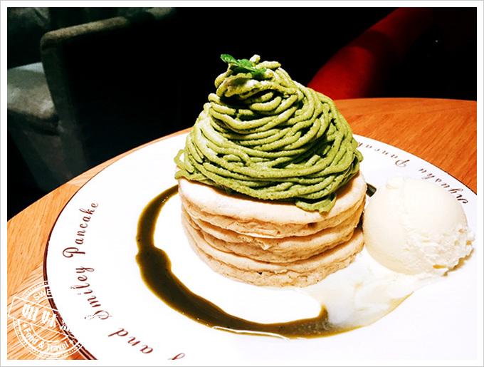 九州鬆餅-九州抹茶蒙布朗鬆餅