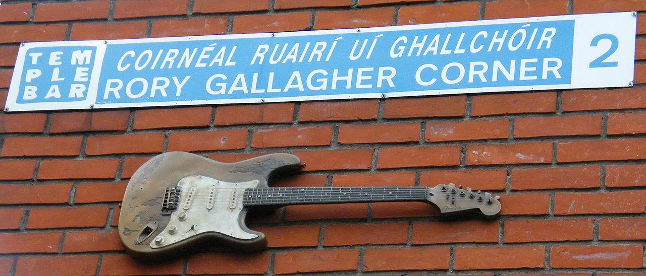 BEST FENDER BLUESMAN Rory Gallagher Guitar Cork