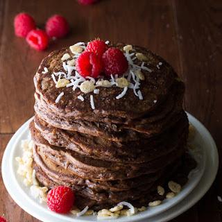 Coconut Krispie Chocolate Pancakes
