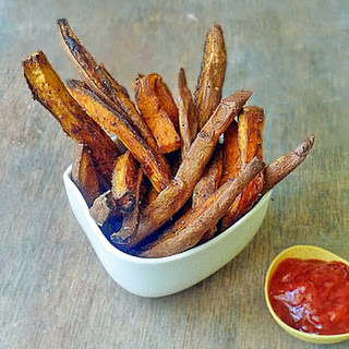 Healthy Baked Sweet Potato Fries.