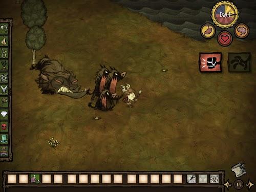 Screenshot 4 Don't Starve: Pocket Edition 1.07 APK+DATA MOD