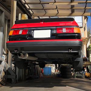 カローラレビン AE86 S62年 GT-Vのオイル交換のカスタム事例画像 かぼちゃままさんの2019年01月09日13:28の投稿