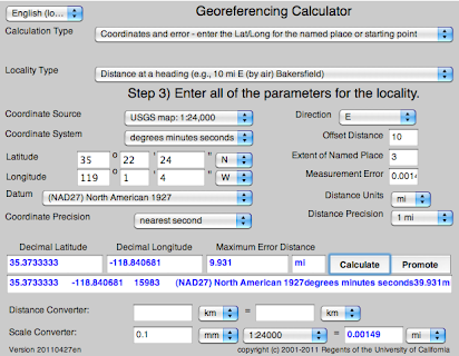 Georeferencing Calculator Manual v2