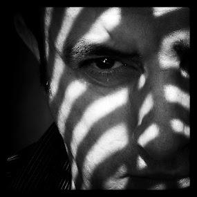Crossroads by Isaac De Jesus - People Portraits of Men ( selfie, light, portrait, shadows, man )